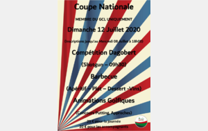 Coupe Nationale 12 Juillet 2020